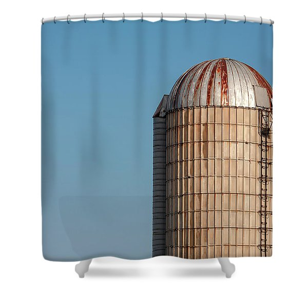 Rusty Dome Shower Curtain