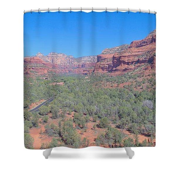 S E D O N A Shower Curtain