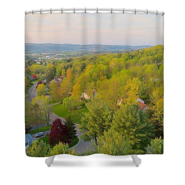 S P R I N G Shower Curtain