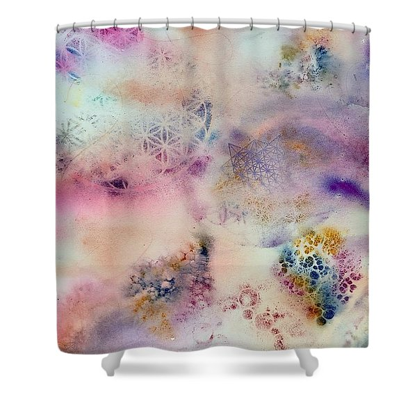 Sacred Flow Shower Curtain