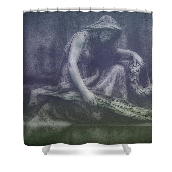 Sadness And Sorrow Shower Curtain