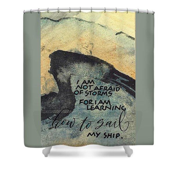 Sail Your Ship Shower Curtain