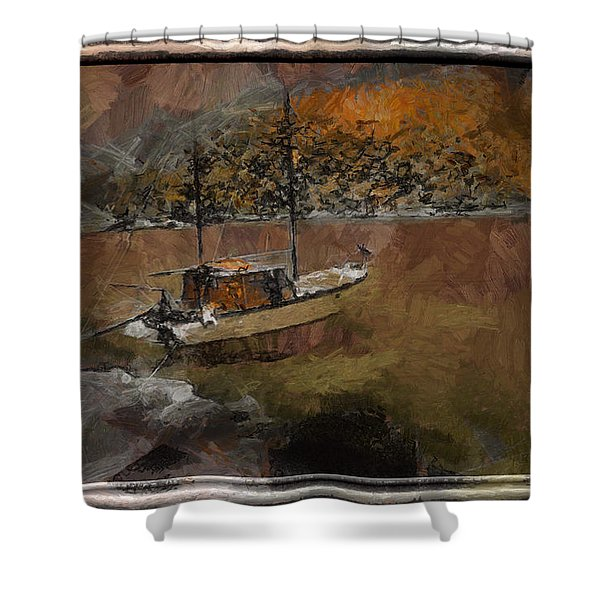 Sailboat Of Dreams Shower Curtain