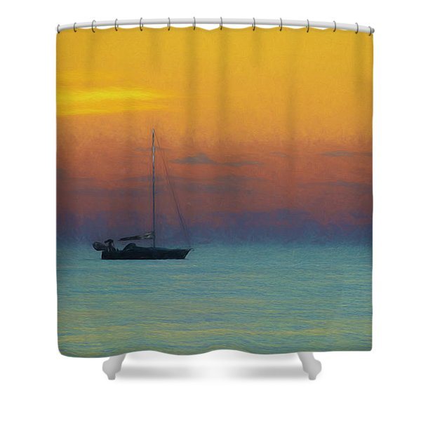 The Neuse River 2013 Shower Curtain