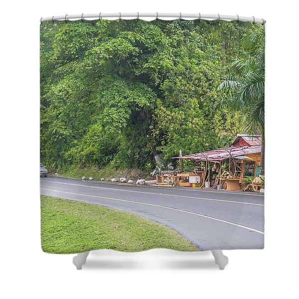 Saint Mary, Jamaica Shower Curtain