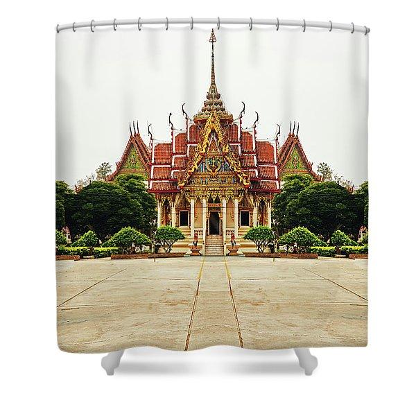Sak Yant  Shower Curtain
