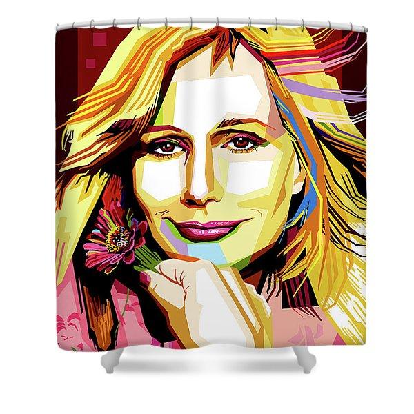 Sally Kellerman Shower Curtain