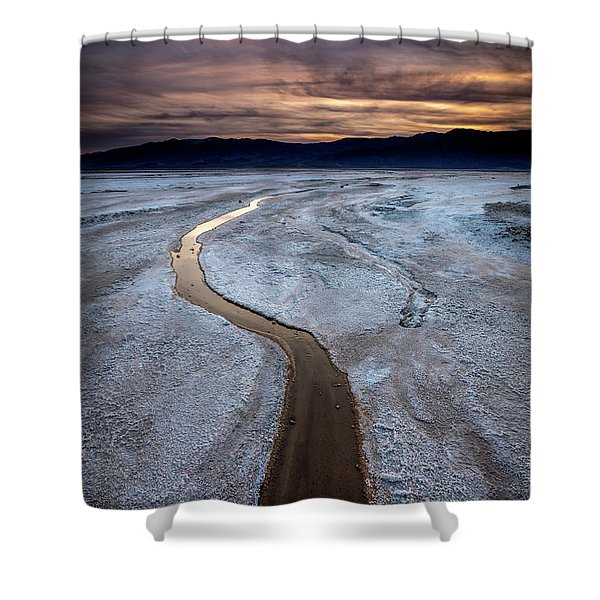 Salt Creek Flats IIi Shower Curtain