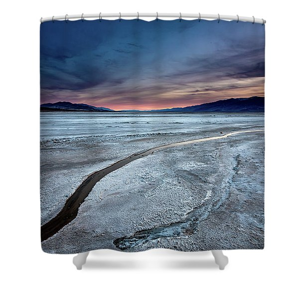 Salt Creek Flats Iv Shower Curtain