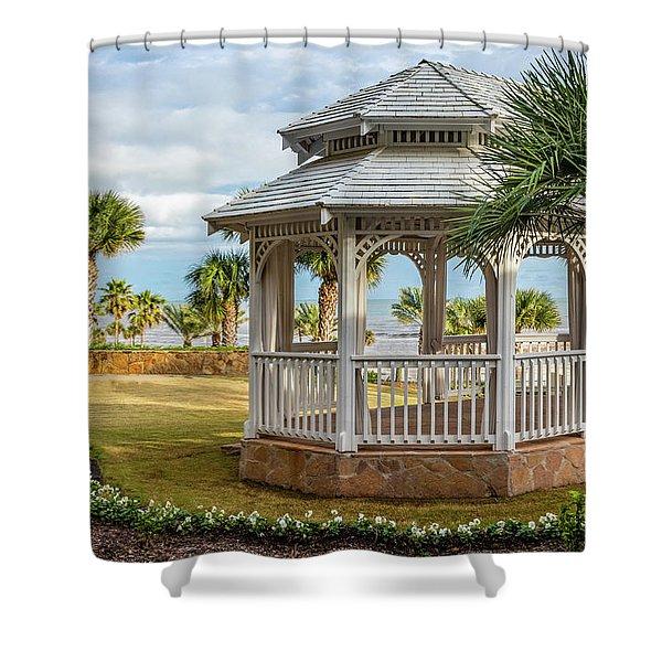 San Luis Gazebo Shower Curtain