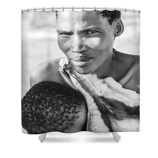 San Mother And Child Shower Curtain