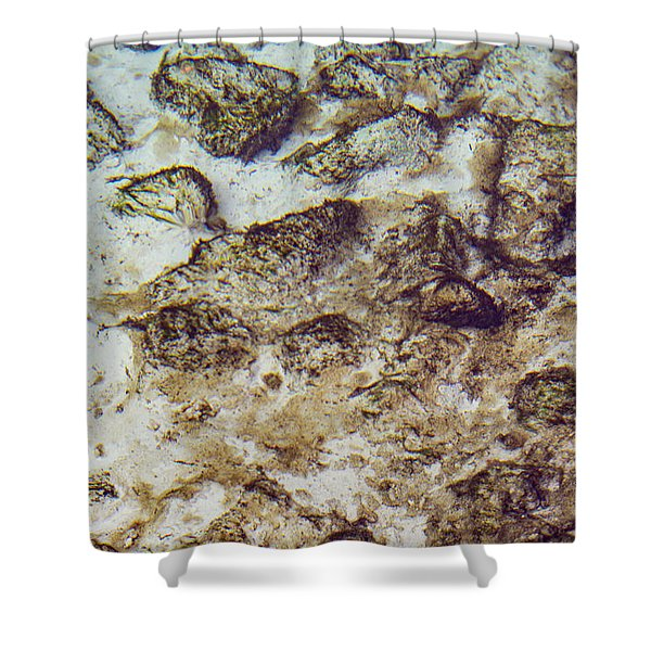 Sand 3 Rivers Shower Curtain