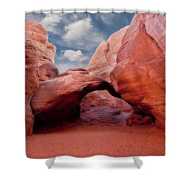 Sand Dune Arch Shower Curtain