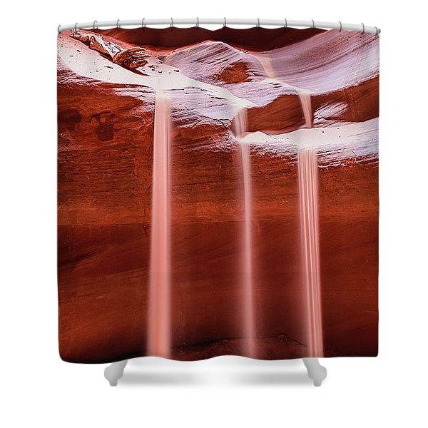 Sand Of Time Shower Curtain