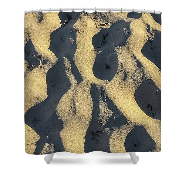 Sand Ripples Shower Curtain