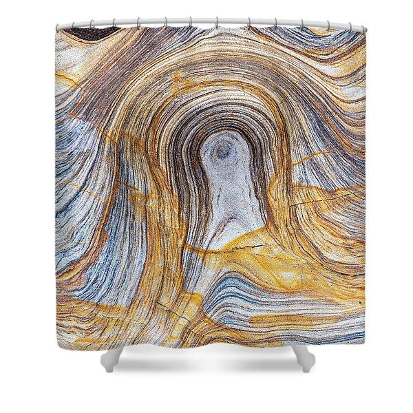 Sandstone Pattern Shower Curtain