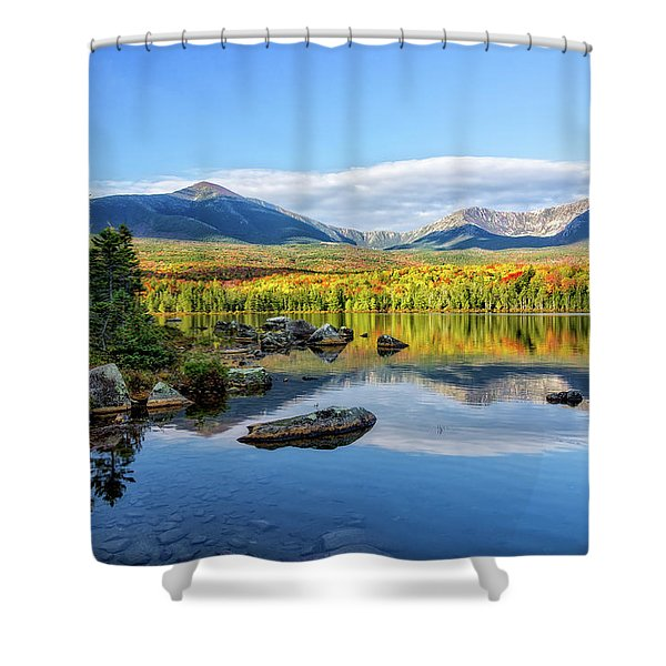 Sandy Stream Pond Baxter Sp Maine Shower Curtain