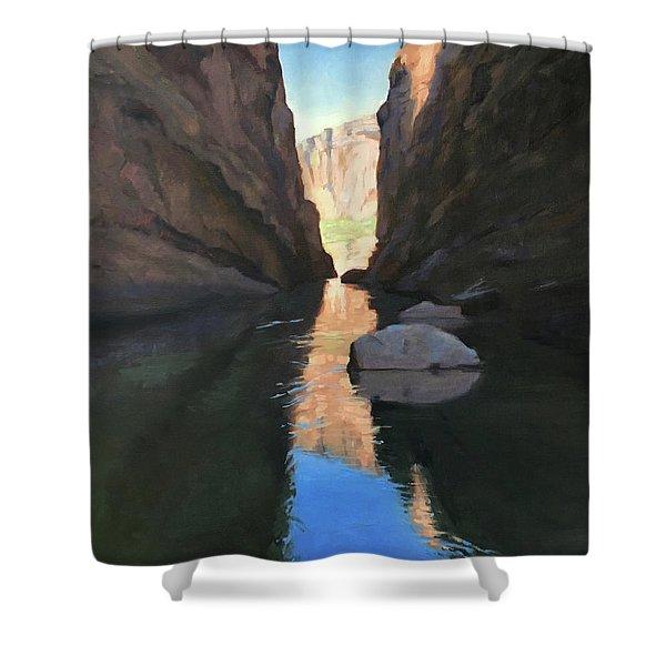 Santa Elena Canyon, Big Bend Shower Curtain