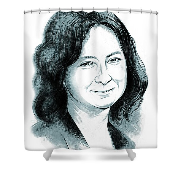 Sara Gilbert Shower Curtain