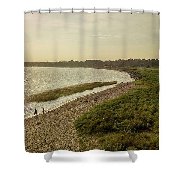 Sasco Beach, Fairfield, Ct Shower Curtain