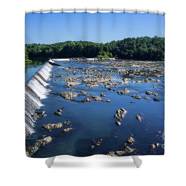 Savannah River Rapids - Augusta Ga 2 Shower Curtain