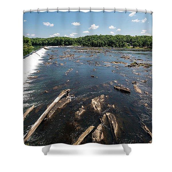 Savannah River Rapids - Augusta Ga Shower Curtain