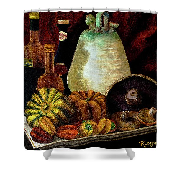 Savor Shower Curtain