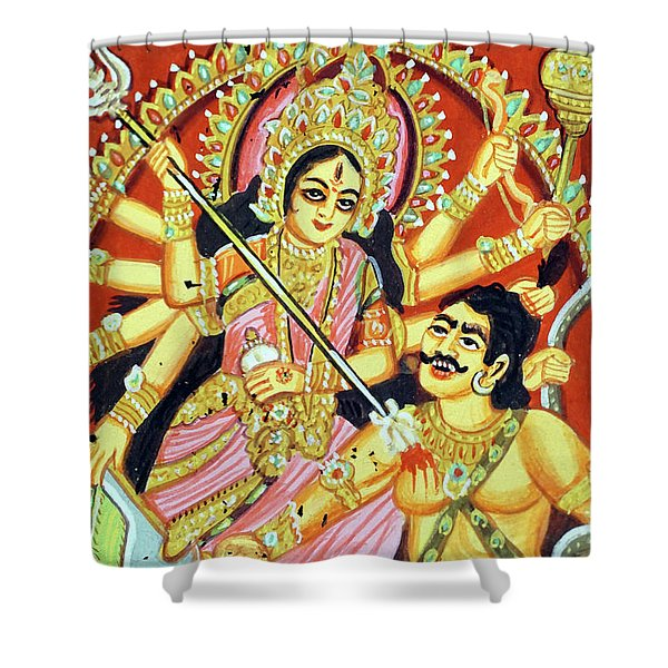 Scenes From The Ramayana Shower Curtain
