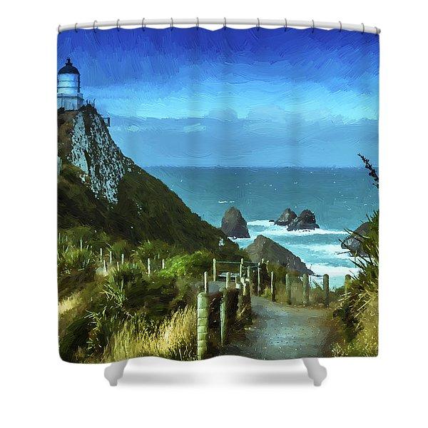 Scenic View Dwp75367530 Shower Curtain