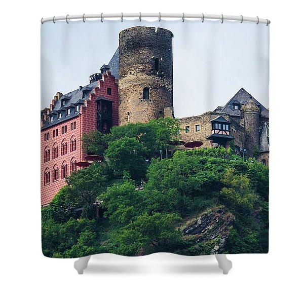 Schonburg Castle Shower Curtain