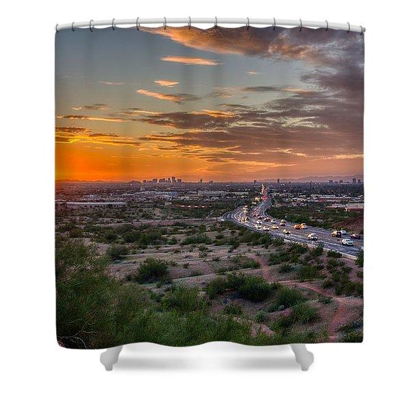 Scottsdale Sunset Shower Curtain