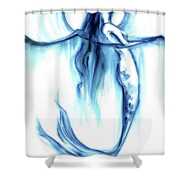 Sea Breath Shower Curtain