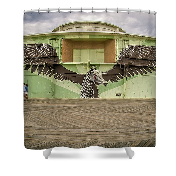Shower Curtain featuring the photograph Seahorse by Steve Stanger