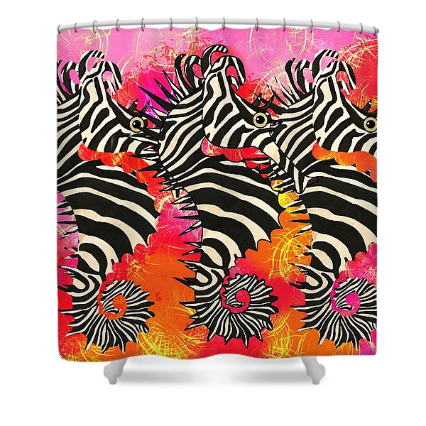 Seazebra Digital11 Shower Curtain