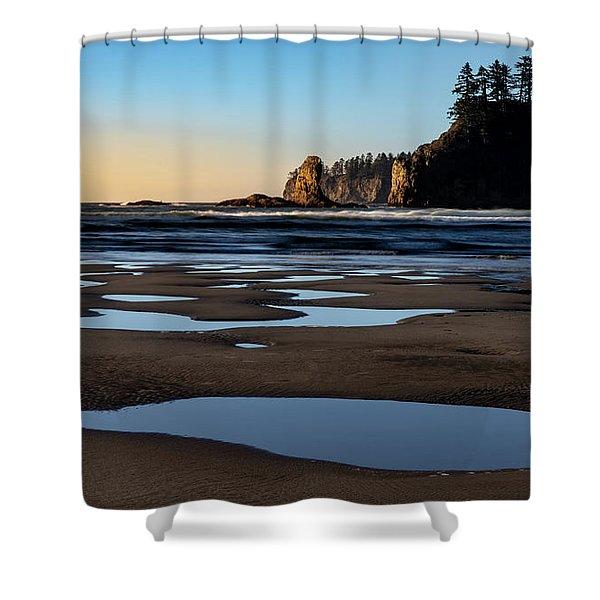 Second Beach Shower Curtain