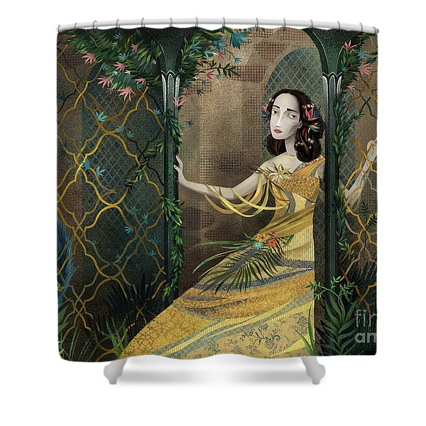 Secret Gardens Shower Curtain