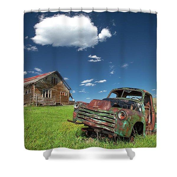 Seen Better Days Shower Curtain