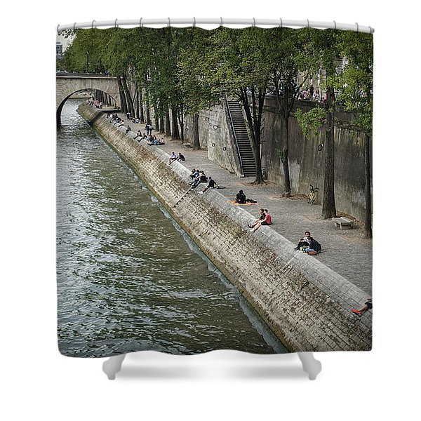 Seine Shower Curtain