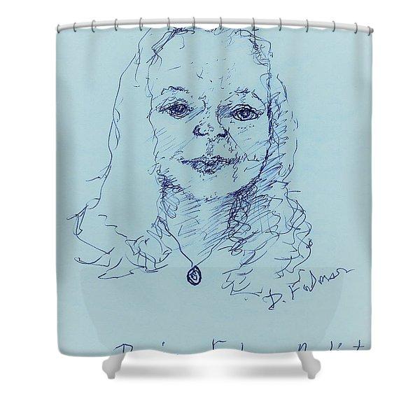 Self Portrait 2018 Shower Curtain