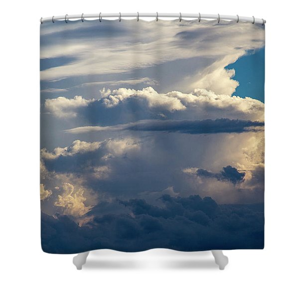 September Storm Chasing 015 Shower Curtain