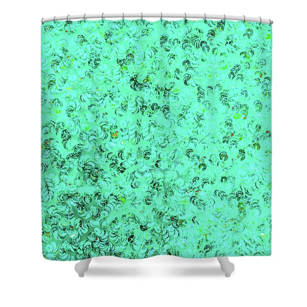 Sequin Dreams 1 Shower Curtain