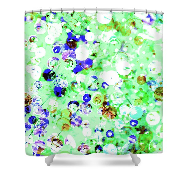 Sequins And Pins 1 Shower Curtain