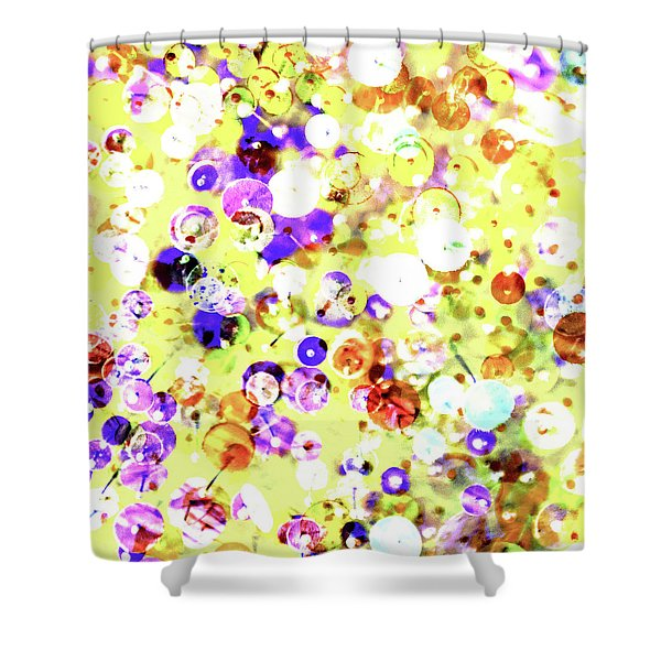 Sequins And Pins 2 Shower Curtain