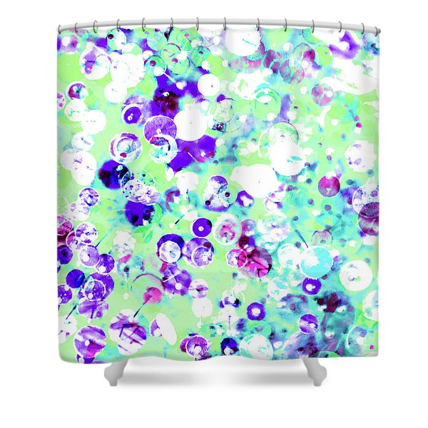 Sequins And Pins 3 Shower Curtain