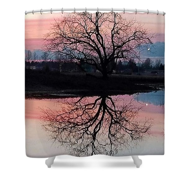 Serenity At Sunset Shower Curtain
