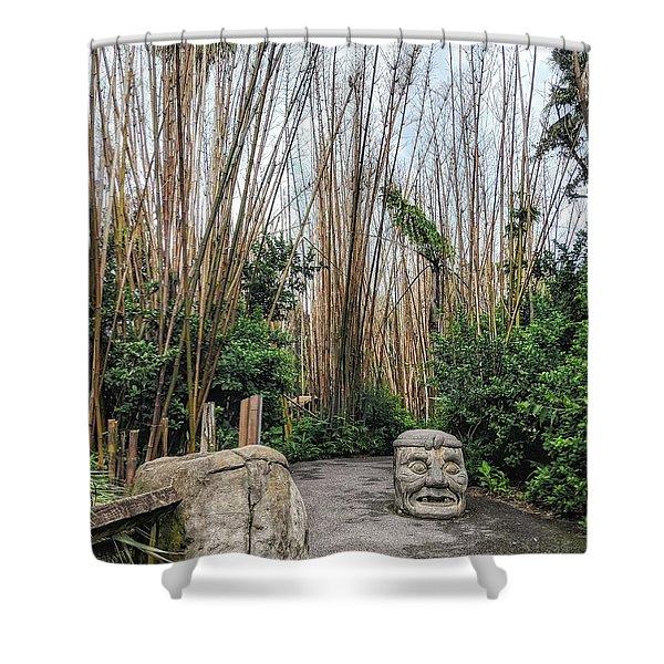 Serenity Path Shower Curtain