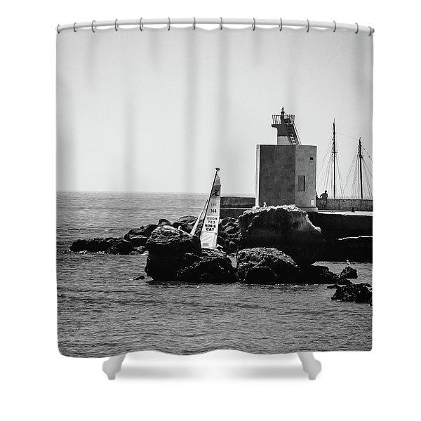 Setting Sail Shower Curtain