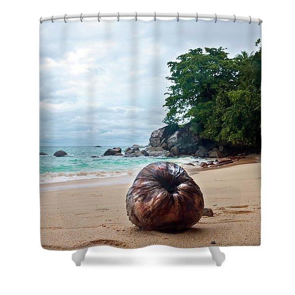 Seychelles  Shower Curtain