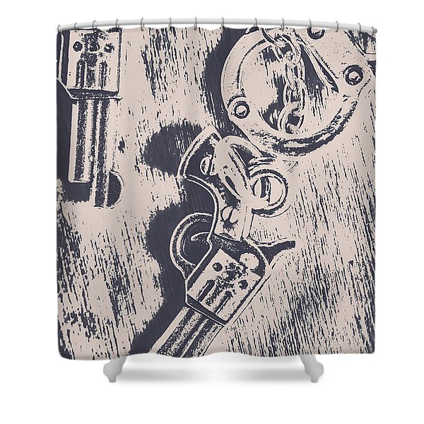 Shackled To The Law Shower Curtain