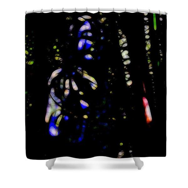 Shadow Soul Shower Curtain